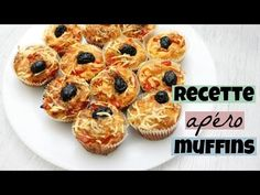 RECETTE APERO muffins façon pizza - YouTube Beignets, Facon, Picnic, Breakfast, Hui, Pizza Muffins, Grated Cheese, Salty Cake, Easy Cooking