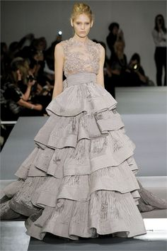 elie saab ultimate ruffled gown.