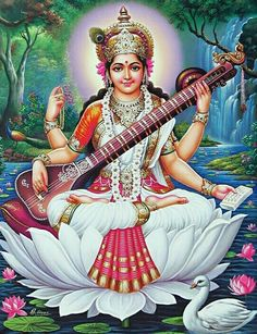 Namo Saraswati Devi.
