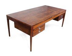 Rosewood Diplomat Desk by Finn Juhl c1960