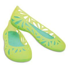 ba29629739a3 Crocs - Giày Nữ Adrina III Flat (Burst Island Green)