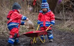 Open fires and pointy sticks: The rise of Scandi-style nurseries in the UK