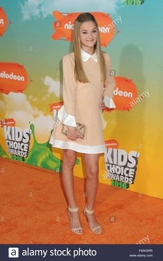 Download this stock image: Inglewood, CA, USA. 12th Mar, 2016. Lizzy Greene. 2016 Nickelodeon Kids' Choice Awards held at The Forum. Photo Credit: Byron Purvis/AdMedia © Byron Purvis/AdMedia/ZUMA Wire/Alamy Live News - FMXGRR from Alamy's library of millions of high resolution stock photos, illustrations and vectors.