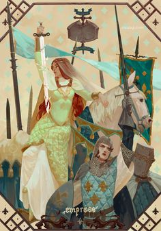 ArtStation - Empress of the Second, aw anqi