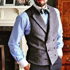 Suit and tie fixation - Second day of and today is also. Suit Up, Suit And Tie, Tweed Wedding Suits, Wedding Men, Suit Fashion, Mens Fashion, Gatsby Girl, Gentleman Style, Dapper Gentleman