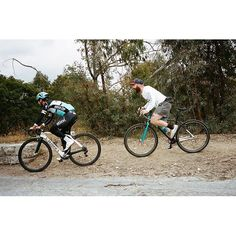 "@goldensaddlecyclery is a place for Winners! @markcavendish seen here DirtDoggin' & Pizzasprint training before todays victory with his new elite level (life) coach @kylebkelley. ""Mark's new 100% Cheese/Bread/Cheese/Meat...Meat Diet is going to take him to the next level"" - Coach Kyle by teamdreamteam"