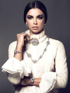 she-loves-fashion: Chanel Beauty for Hia Magazine