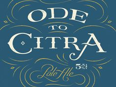 Ode to Citra by Ben Didier