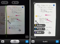moleskine smart notebook for evernote digitizes handwriting and sketches