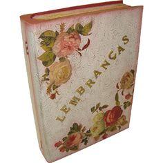 Caixa Livro Lembranças - Marisa Magalhães
