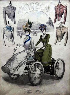 1890s ad on what to wear while riding.