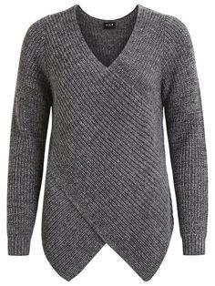 Vila – Wrap knit