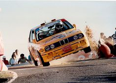 BMW E-30, Rally time