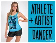 Sadie Jane Dancewear - Stacey Athlete Artist Tank - Aqua , $28.00 (http://www.sadiejane.com/stacey-athlete-artist-tank-aqua/)