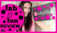 FAB FIT FUN BOX REVIEW 2015