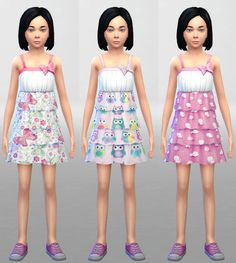 image Sims 4, Party Wear, Ts4 Cc, Summer Dresses, Children, Boys, Clothing, How To Wear, Image