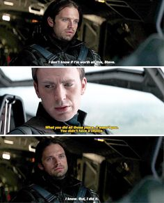 If only other Avengers could hear this and accept my dear sweet INNOCENT BUCKY<<<yes; Marvel Fan, Marvel Dc Comics, Marvel Avengers, Bucky Barnes Captain America, Winter Soldier Bucky, Bucky And Steve, Dc Movies, Stucky, Disney Marvel