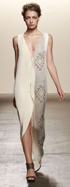 VOZ Spring/Summer 2014 Runway women fashion outfit clothing style apparel @roressclothes closet ideas