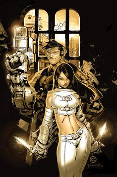 Iron And The Maiden  by Chris Bachalo