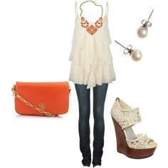 lace & coral