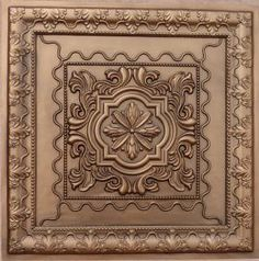 These tiles are also great for drop, suspended and grid system ceilings. Our tiles can also be painted or faux finished with a quality water based paint to create your own unique backdrop. You can even mix and match tile designs and/or colors. Drop Ceiling Tiles, Faux Tin Ceiling Tiles, Tin Tiles, Dropped Ceiling, Decorative Panels, Decorative Tile, Decorative Items, Copper Wall, Ceiling Medallions