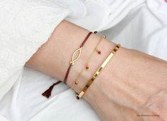 9c1e8e8aa9b6 Kombinationsvorschlag Armband Granat-Gold, 925 Silber vergoldet Armband  ICHTHYS Fisch-Symbol 925 Silber