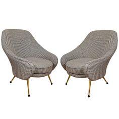 Marco Zanuso Martingala Chairs for Arflex c1950's