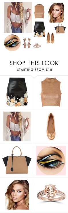"""""""Untitled #14"""" by minela-fehric ❤ liked on Polyvore featuring Emanuel Ungaro, Glamorous, Tory Burch, Fendi, Charlotte Tilbury and J.Crew"""
