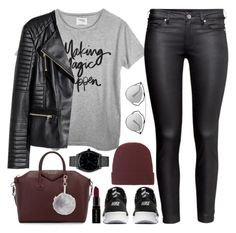 """""""Making Magic Happen"""" by marbiotic ❤ liked on Polyvore featuring Givenchy, Christian Dior, Bally, H&M, Smashbox, NIKE and Nixon"""