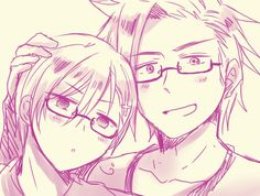 Denmark x Norway~ DenNor Dennor, Usuk, Norway Hetalia, Hetalia Axis Powers, Sad Faces, Awesome Anime, Manga Anime, Sketches, Kawaii
