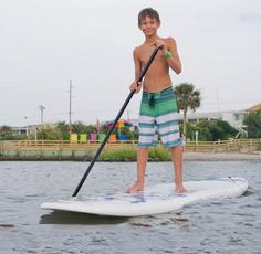 Have you ever tried Paddle Boarding?  It's a great way to have fun in the sun (and water) while getting a great workout!  Check it out next time you visit Emerald Isle!