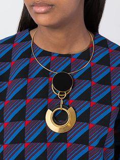 Marni ожерелье с круглой подвеской