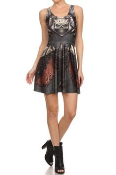 Barbarian Skater Dress from POPRAGEOUS