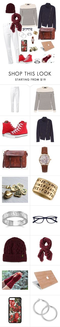 """""""A Writer in Paris"""" by soulsearchingpiper ❤ liked on Polyvore featuring Georgia Alice, Saint James, Converse, Halogen, Rachel Rachel Roy, BillyTheTree, Dr. Martens, Banana Republic and Dolce&Gabbana"""