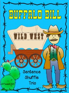 READING LEVEL:  4.3 - 4th Grade Informational text center about Buffalo Bill.  Also includes printables for interactive journals and a mini book.  paid