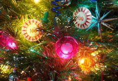 Pinball Christmas tree ornaments