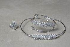 Nasiis on CraftzBay Jewellery Making, Jewels, Bracelets, Silver, How To Make, Gifts, Bangle Bracelets, Presents, Jewelery