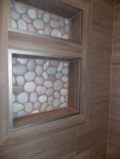 Detail of the shower nook