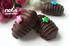 5 Dakikada 2 Malzemeli Çikolatalı Bonbonlar Tarifi