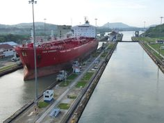 On August 15, 1914, the Panama Canal opened to cargo traffic.
