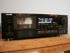 PHILIPS DCC-850 House Illustration, Hifi Audio, Eindhoven, Audiophile, Tv Videos, Home Theater, Deck, Technology, Retro