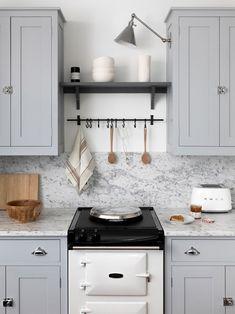 British kitchen features: Aga Stove