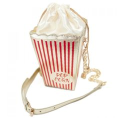 $18.63 Fashion Style Popcorn Pattern and Chain Design Women's Crossbody Bag - Red