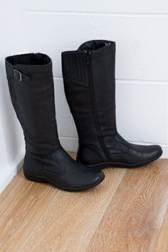 Planet Shoes Spire Long Boot - Womens Boots at Birdsnest Fashion - i like these but you need to try on to make sure they don;t look like gumboots