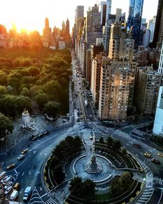 New York City Feelings - Columbus Circle by @scottlipps #nyc