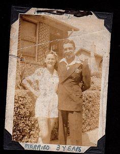 Belle and Larry, Brighton Beach 1938