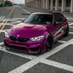Bmw M3 E90, Bmw M3 Sedan, Bmw M2, Pink Bmw, Purple Cars, F80 M3, Bmw Wallpapers, Top Luxury Cars, Bmw Love