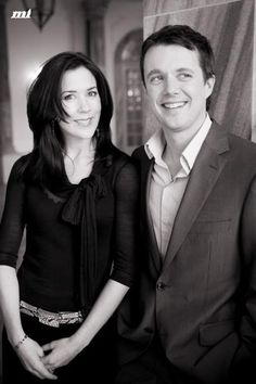 Crown Prince Frederik and Crown Princess Mary of Denmark