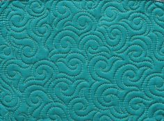 The swirl hook machine quilting design is a fun swirl variation that adds a beautiful texture to your quilts! Check out these tips to make quilting it easier!