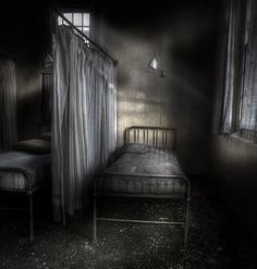 Patients who died under her care still haunt the grounds of the old sanitarium grounds.